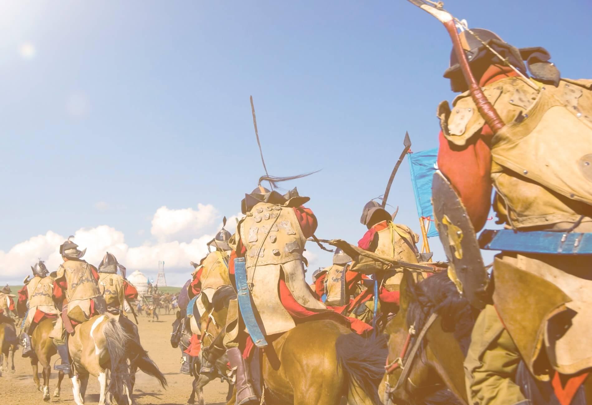המונגולים החריבו את העיר