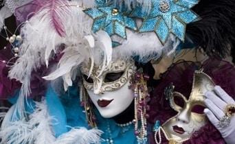 מסכות בקרנבל המסכות בונציה, הבלוג של כספי טורס