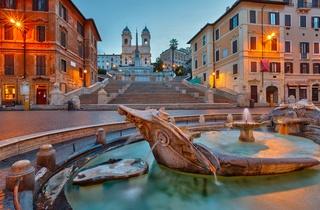 הבלוג של כספי טורס, המדרגות הספרדיות ברומא