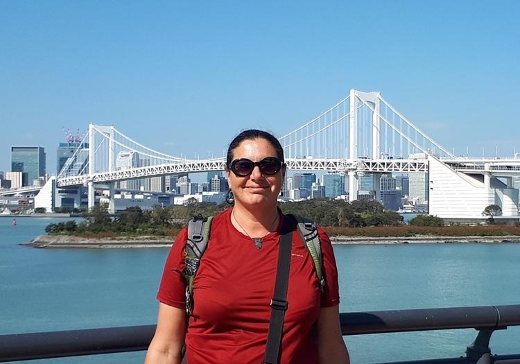 אילנה בר בלוגרית מסעות ומטיילת בטוקיו