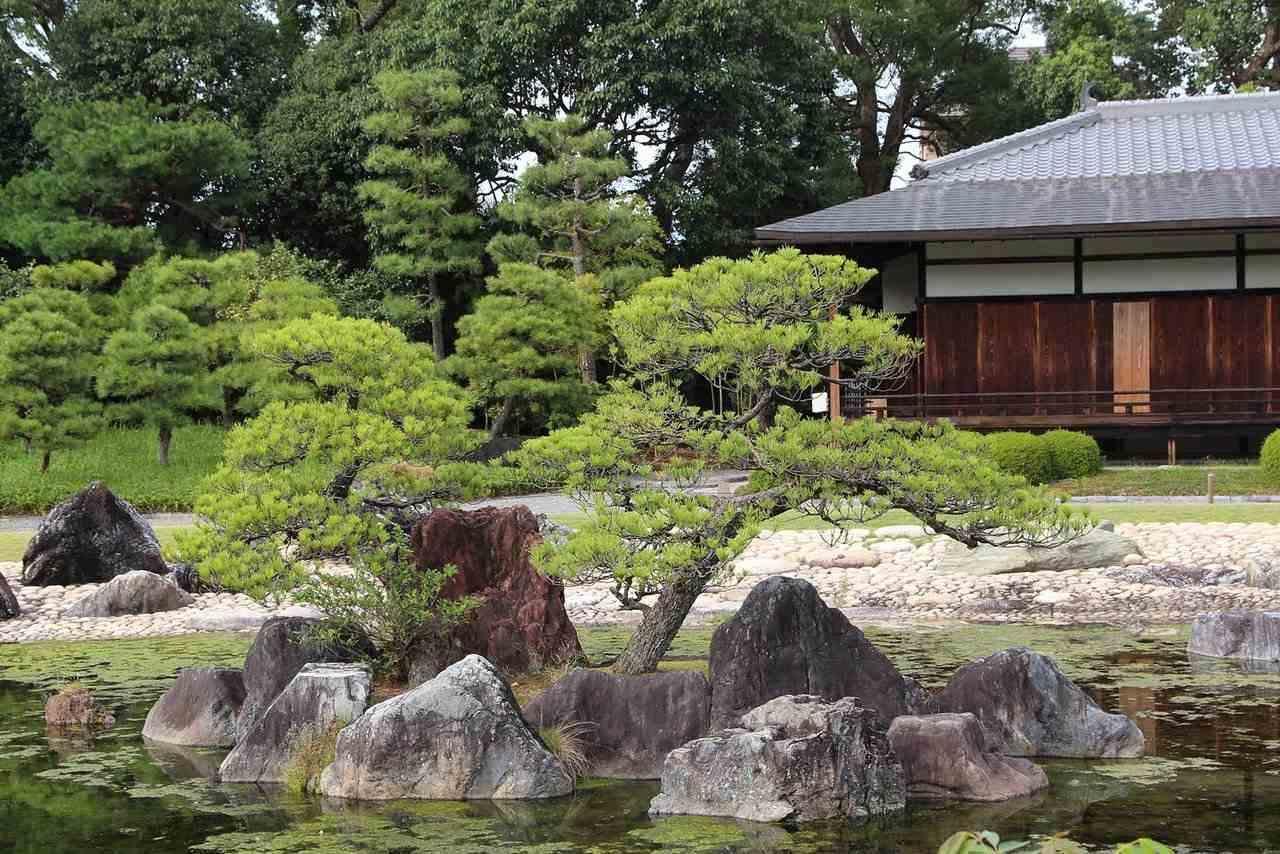 עיצוב נוף שליו בקיוטו, יפן