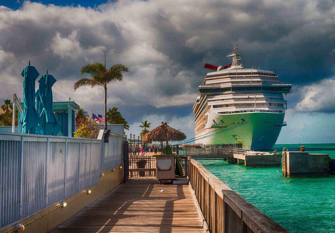 פלורידה קיז, ספינת קרוז עוגנת - הבלוג של כספי טוס